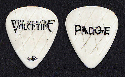 "Bullet For My Valentine Michael ""Padge"" Paget Signature Guitar Pick - 2010 Tour"