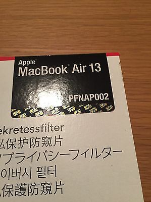 3M Black Privacy filter macbook air 13 inch