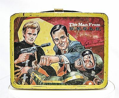 Vintage The Man From UNCLE Steel Lunch Box 1966 King-Seeley
