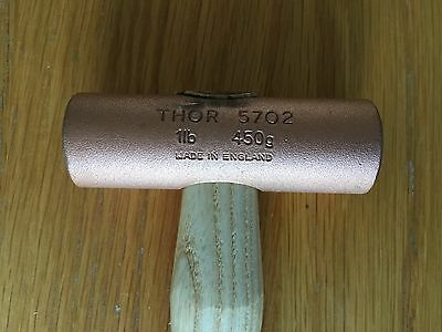 Thor 5702 Solid Copper Mallet