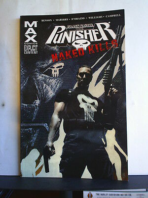 GRAPHIC NOVEL: PUNISHER - NAKED KILLS - Paperback 2010 1st print