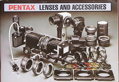 Pentax Lenses And Accessories Sales Brochure/162290