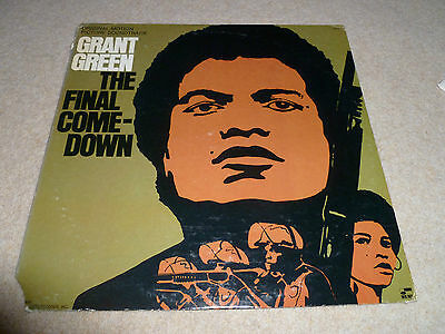 GRANT GREEN-The Final Come Down VINYL LP BLUE NOTE  FUNK/BREAKS OST