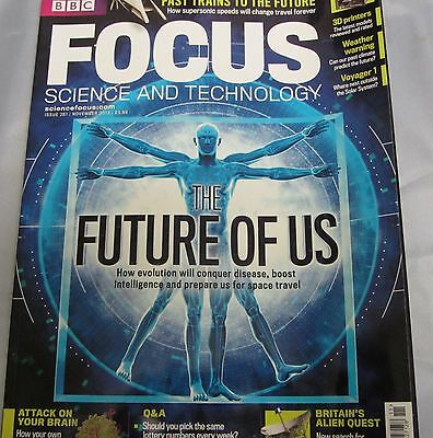BBC FOCUS science & tech Mag issue 261 the future of us