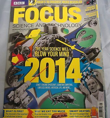 BBC FOCUS science & tech Mag issue 263 the year science will blow your mind 2014