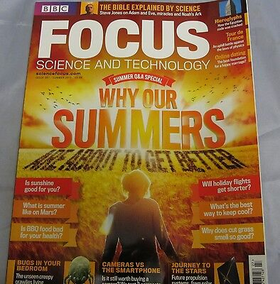 BBC FOCUS science & tech Mag issue 257 Summers bugs & mars