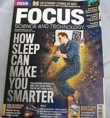 BBC FOCUS science & tech Mag issue 259 how sleep can make you smarter