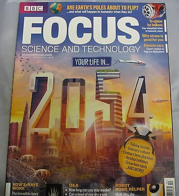 BBC FOCUS science & tech Mag issue 273 your life in 2054