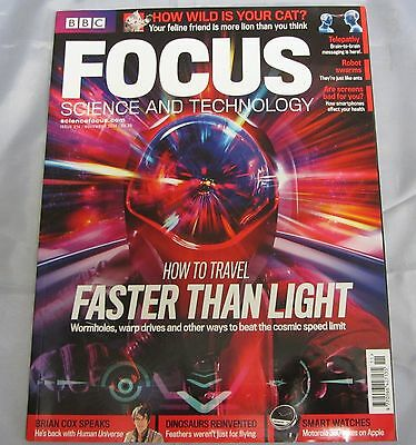 BBC FOCUS science & tech Mag issue 274 how to travel fast than light