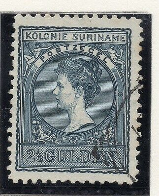 Suriname 1902-09 Early Issue Fine Used 2.5G. 167927