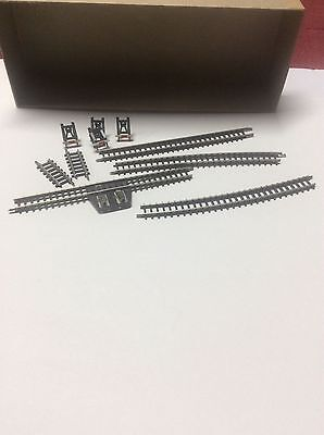 Z scale Marklin 8591, 8500, 8590 and 8504 track pieces, unused