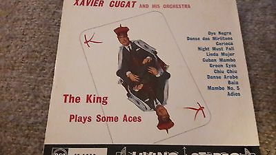 Xavier Cugat & His Orchestra The King Plays Some Aces Vinyl LP RCA SF-5038
