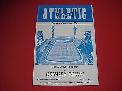 1978/79 Wigan V Grimsby First League Game
