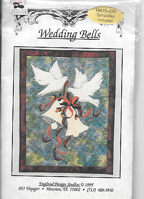 Wedding Bells Quilt Pattern And Fabric Kit.