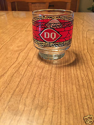Vintage Dairy Queen DQ Promotional Glass