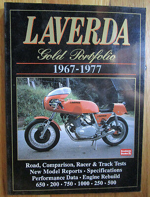 Laverda Motorcycle Portfolio Book 1967-1977 Jota Sf750 Triple Gemini 650 Twin +