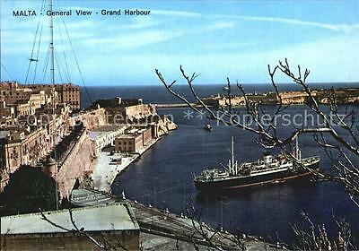 72564636 Grand Harbour Hafen Malta