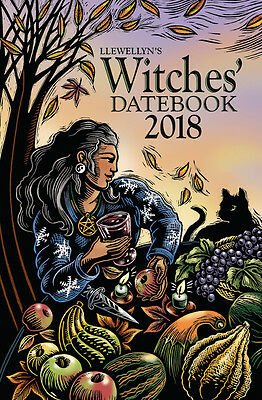 Llewellyn 2018 Witches' Datebook – Spiral Bound – Articles, Astrological Info