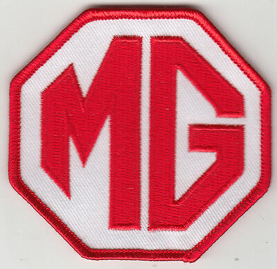 Mg Embroidered Patch