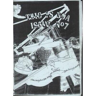 BOA (INDIE FANZINE) This Is Boa Issue No.7 FANZINE UK A5 Black And White