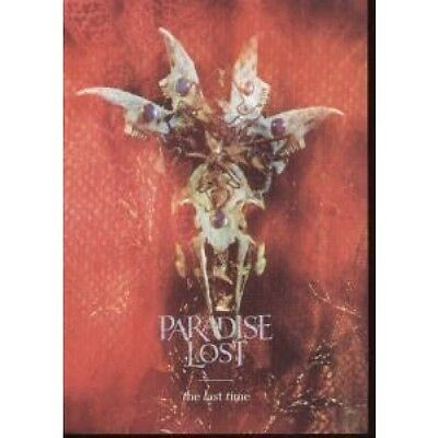 PARADISE LOST (UK GROUP) Last Time FLYER UK Music For Nations 1995 Promo Flyer