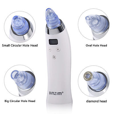 Pro Electric Facial Care Pore Blackhead Cleaner Remover Vacuum Acne Cleanser New