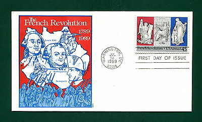 Sc. C120 French Revolution FDC - GAMM