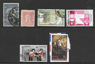 THAILAND SIAM Small but Interesting All Used Issues Selection (Jun 0140)