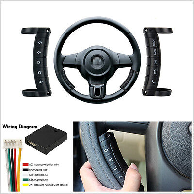 Multifunction 10 Keys Wireless Car Off-Road Steering Wheel Button Remote Control