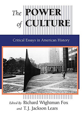 The Power of Culture: Critical Essays In American Histo - Paperback NEW Richard