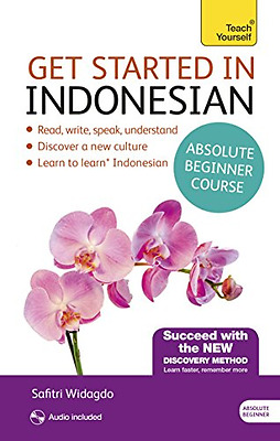 Get Started in Beginner's Indonesian (Learn Indonesian  - Paperback NEW Safitri