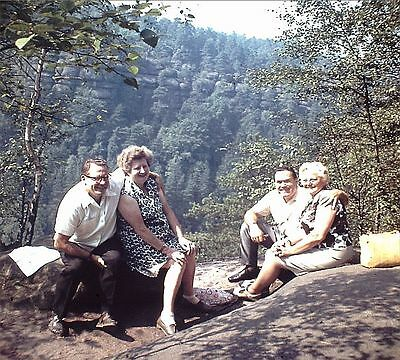 Ostrau Bad Schandau Personen Damen Herren Foto als Dia positive slides (8)people