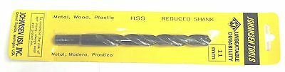 11mm 2pc SHIPS FROM USA Twist Drill bits Metric High speed steel cutting hs hss