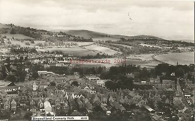 Scotland Dingwall & Cromarty Firth Real Photo Vintage Postcard 27.6