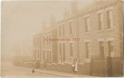 Unknown Locations Uk 2x Real Photo Vintage Postcards 27.6