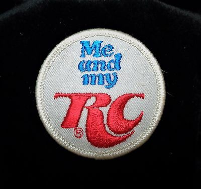 """Vintage Original RC Cola """"Me And My RC"""" Patch 2"""""""