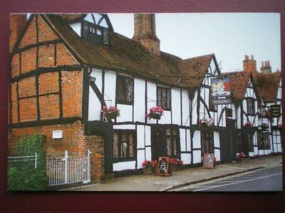 Postcard Buckinghamshire Old Amersham - The Kings Arms Inn