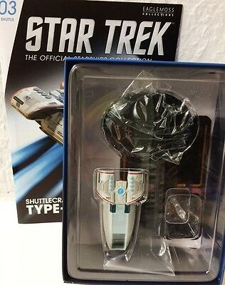 Star Trek Raumschiffsammlung Shuttle The Type-10 Defiant Eaglemoss + eng. OVP