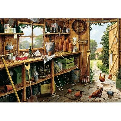 Gibsons - 500 PIECE JIGSAW PUZZLE - The Garden Shed