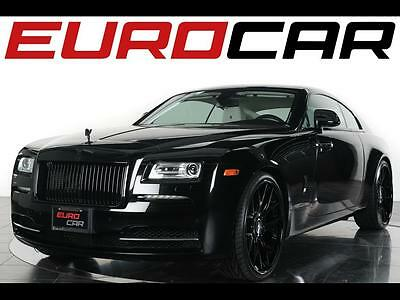 2014 Rolls-Royce Other Base Coupe 2-Door 2014 Rolls-Royce Wraith - Stunning Blacked Out Chrome Exterior, One Owner