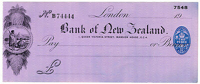 (I.B) George V Revenue : Impressed Cheque Duty 2d (Bank of New Zealand)