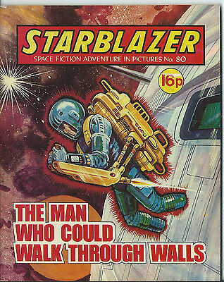The Man Who Could Walk Through Walls,starblazer Space Fiction,no.80,1982