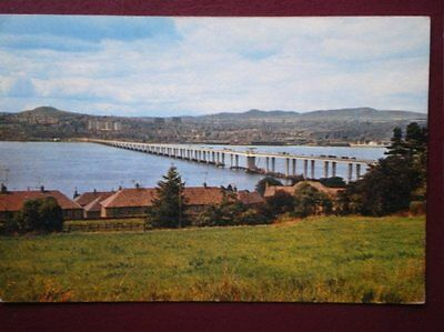 Postcard Angus The Tay Bridge & Dundee From Newport