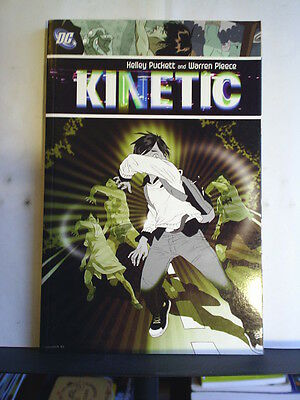 Graphic Novel: Kinetic   Paperback