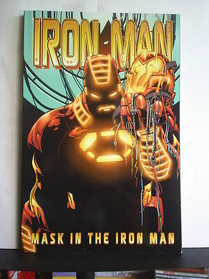 Graphic Novel: Iron Man - Mask On The Iron Man   P/b