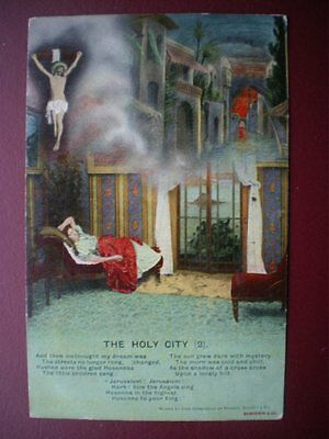 Postcard Song Cards Bamforth 4502/2 The Holy City (2)