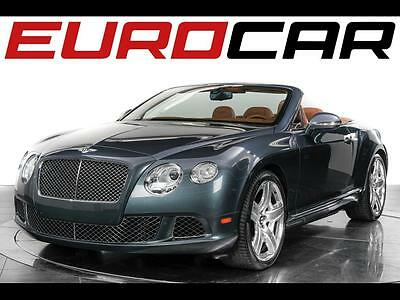 2012 Bentley Continental GT Convertible 2012 Bentley Continental GTC - Unique Paint Color, 2-owner Vehicle, 7,900 Miles