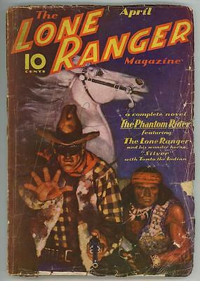 """The Lone Ranger Apr 1937 #1, First Issue, """"The Phantom Rider"""""""
