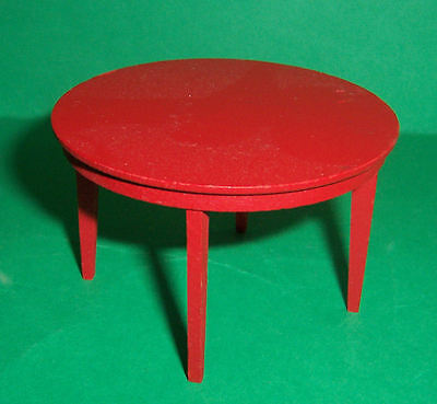 VINTAGE 1970's LUNDBY DOLLS HOUSE DINING TABLE