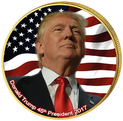 1/4 $ USA - Donald Trump 45th President 2017